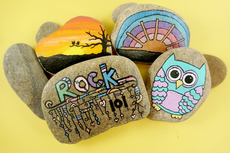 Rock Painting For Beginners Rock Painting 101