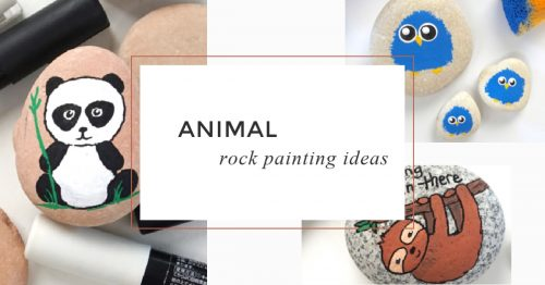100 Easy Rock Painting Ideas That Will Inspire You 101