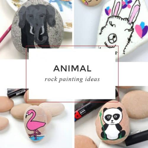 Animal rocksare fun to paint. From adorable bunnies to fun owls, this ever-growing list of animal painted rocks is sure to inspire. Learn how to paint animals on rocks with these step by step video tutorials.