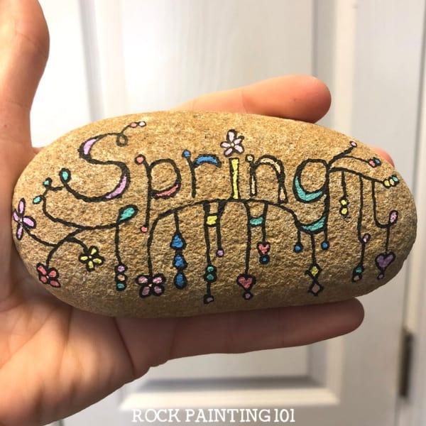 Zendangle Spring Rock.