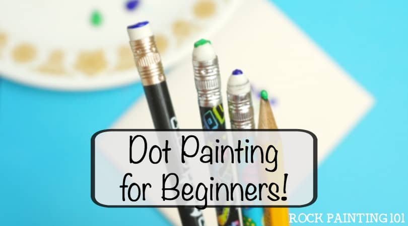 How To Make Dot Painting Feel Easy As A Beginner