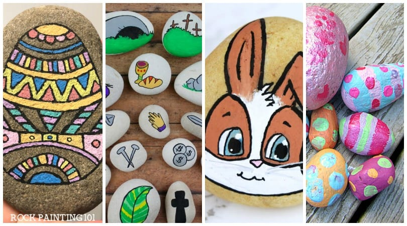 Easter Rock Painting 17 Easter Rocks That Are Perfect For