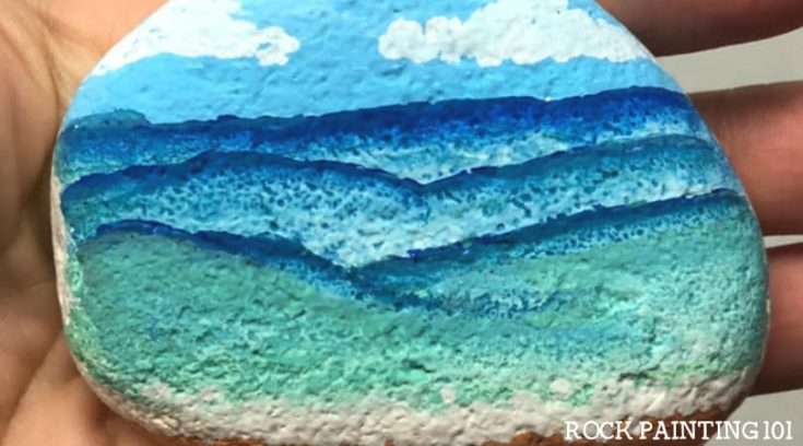 10 Easy Beach Rock Painting Ideas To Get Geared Up For Summer Rock Painting 101