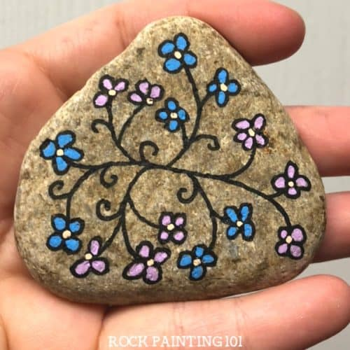Simple Images To Paint On Rocks