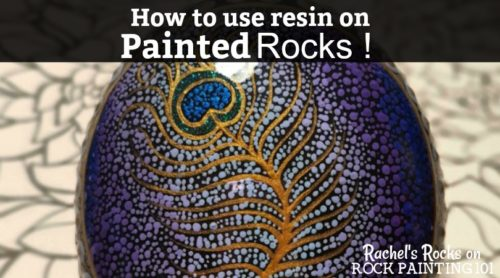 Learn how to make beautiful and glossy rocks using resin. These tips will help you to create amazing painted rocks!