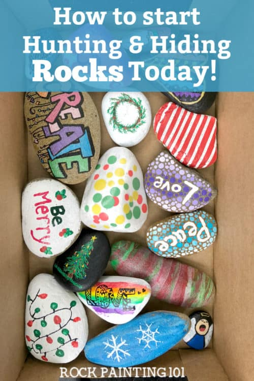Rock hunting is all the rage and these tips will have you collecting like a pro! From how to find rocks to how to hide them. We have the answers to your questions. #rockhunting #rockhiding #rockpainting #summeractivities #summer #rockpainting101