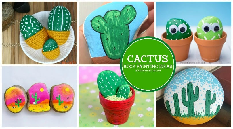 11 Diy Cactus Rocks That Are Simple And Fun To Make Rock