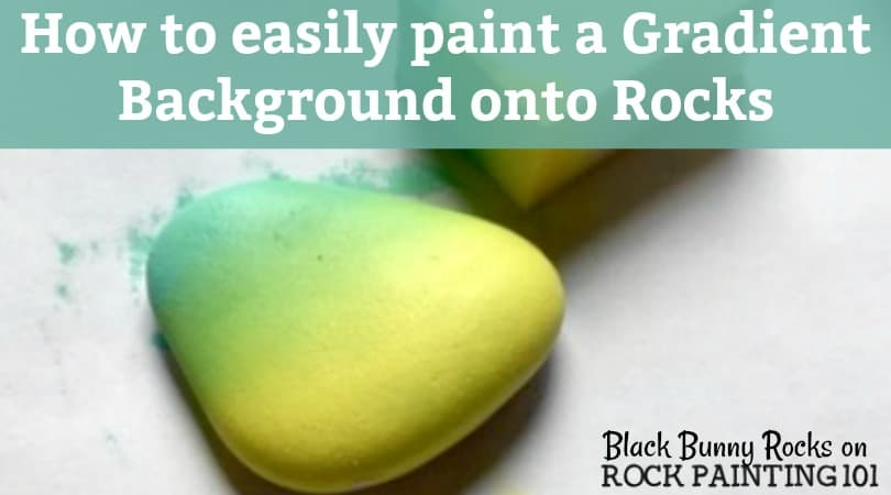 How to easily make a gradient background on rocks