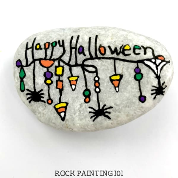 We can't have Halloween rocks without dangles!