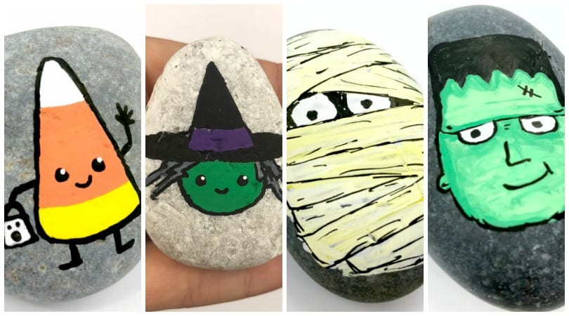 21 Easy Halloween Rock Painting Ideas Guaranteed To Wow