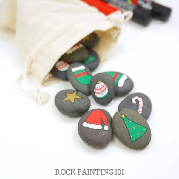 Christmas Memory Rocks