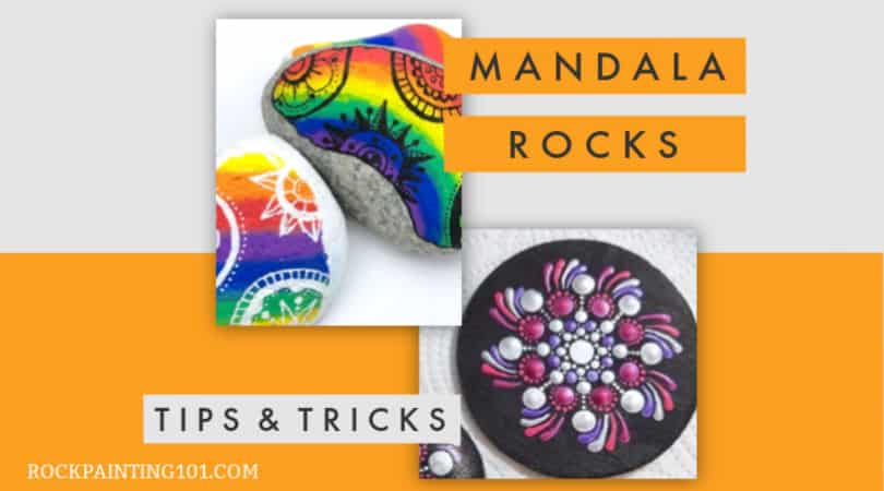 How to draw mandala rocks. Tips for all skill levels.