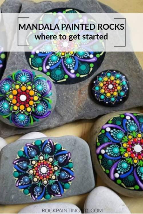 Dot Mandala Beginner Tutorial - Rock Painting 101