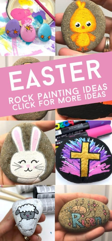 Easter Rock Painting Ideas.