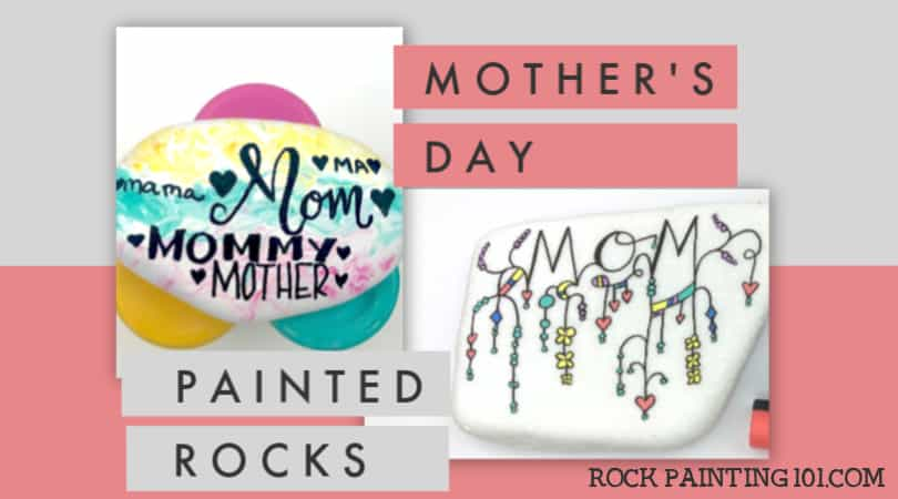 6 lovely Mother's Day rock painting ideas