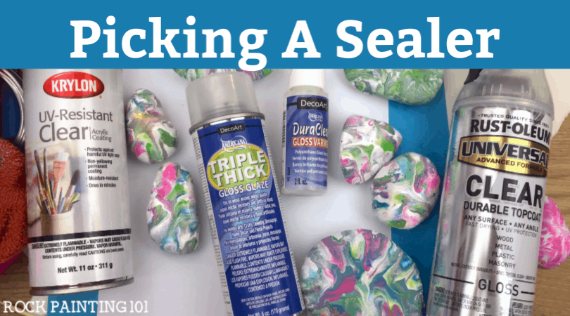 What is the best sealer for painted rocks?