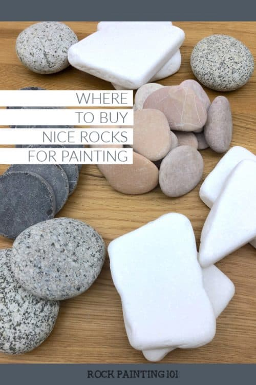 Where to buy higher quality rocks for painting and other craft projects. These stones are smooth and ready for you to create on!