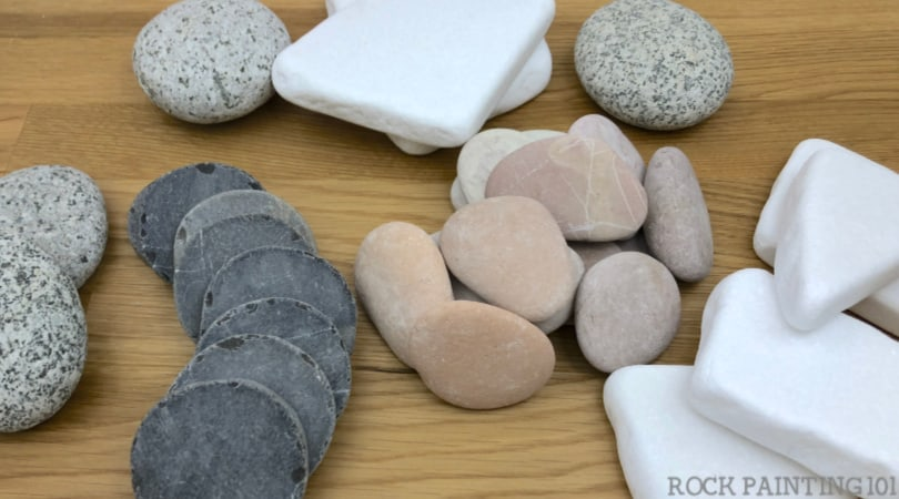 Where to buy smooth and flat rocks for crafts