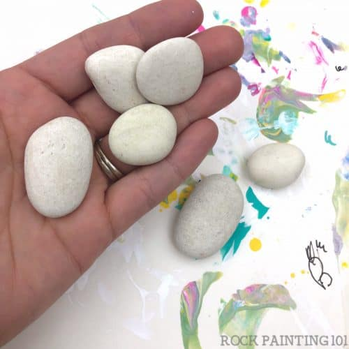 Where to buy mini rocks for painting and other craft projects. These stones are smooth and ready for you to create on!