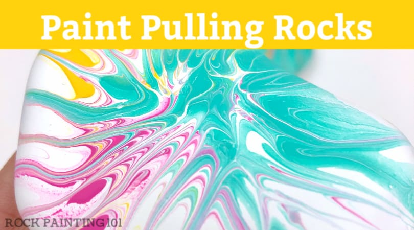 How to master paint pulling on rocks