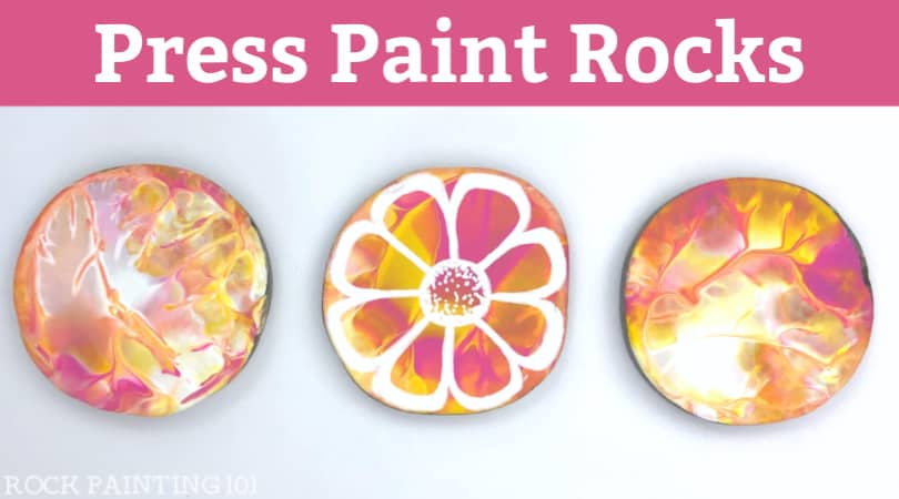How to master press painting on rocks