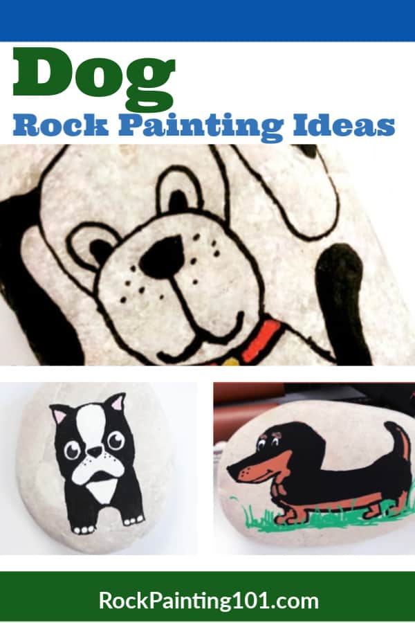 8 Dog Rock Painting Ideas That Are Too Cute To Miss Rock Painting 101