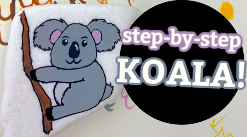 How to paint a Koala