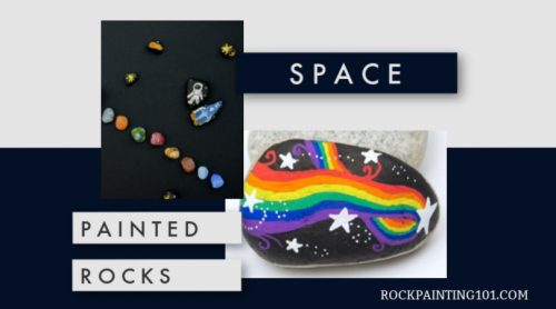 Have you ever just stopped and looked up at the night sky and stood in awe of the beauty? This is what these galaxy rocks are all about. They're a small glimpse into the vast darkness and abundance of space, and they can easily be recreated by you at home!
