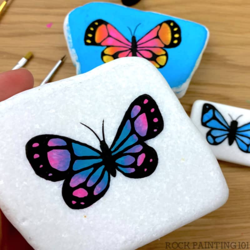 This video tutorial is great for learning how to paint butterflies or beginners! Now that the warm weather is here, who says that you can't make and create your own butterflies for your outdoor enjoyment?