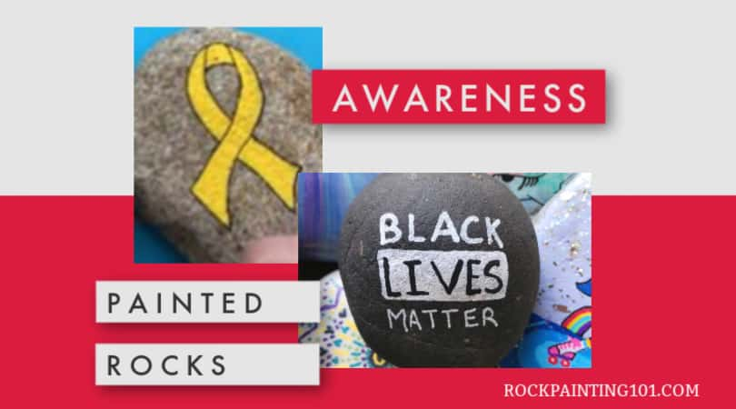 Use your rock painting skills to spread awareness about causes that are important to you. Painted rocks make great gifts for volunteers or visitors to your event.