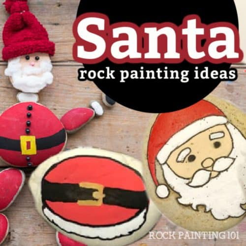These Santa painted rocks are so perfect for your Christmas crafting. Use them to decorate your holiday table, give as gifts, or hide around the city.