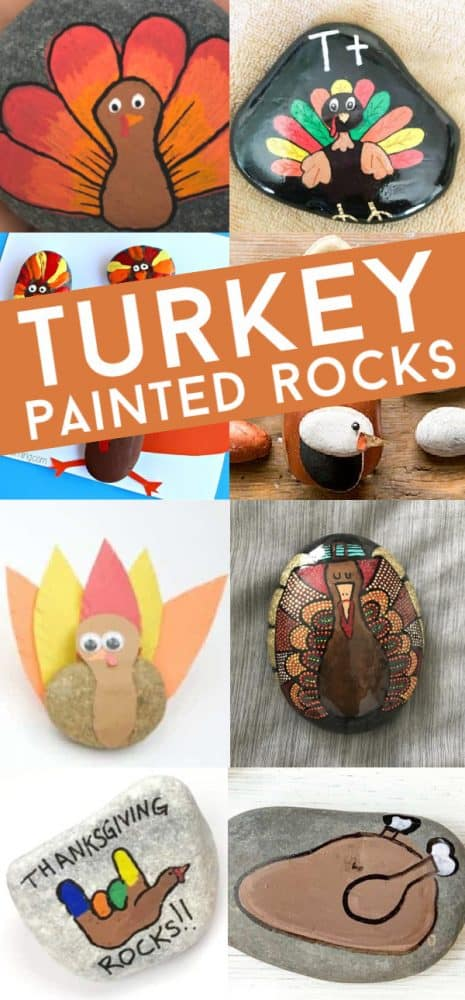 These turkey painted rocks are so perfect for your Thanksgiving crafting. Use them to decorate your holiday table, give as gifts, or hide around the city.
