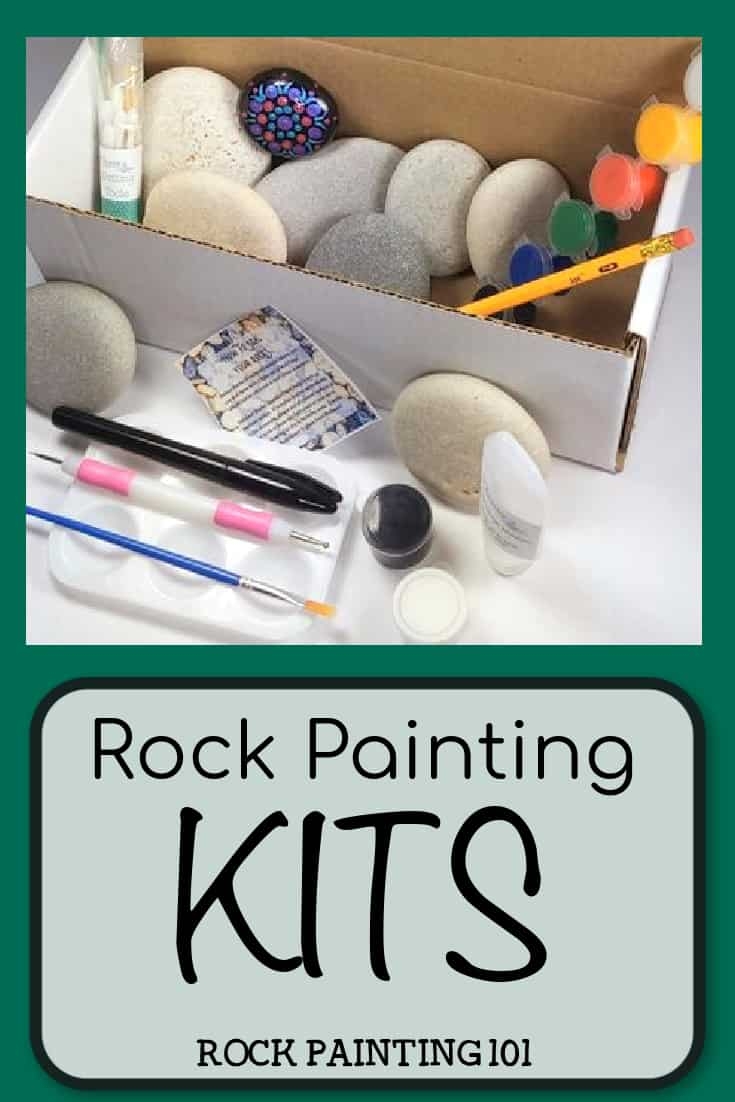 Looking for the best rock painting kits? Check out these fun kits that can be purchased on Amazon or Etsy. From glow in the dark to kids, there is something for everyone. #rockpainting101 #rockpaintingkits