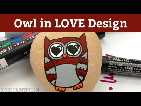 14 Easy Owl Rock Painting Ideas Rock Painting 101