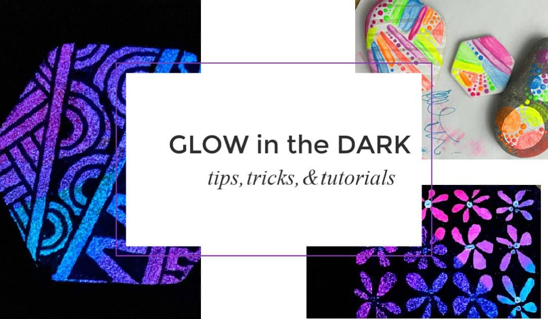 How to make Glow in the Dark Painted Rocks