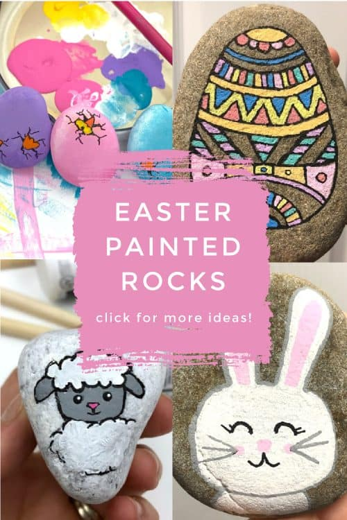 Easter Painted Rocks.
