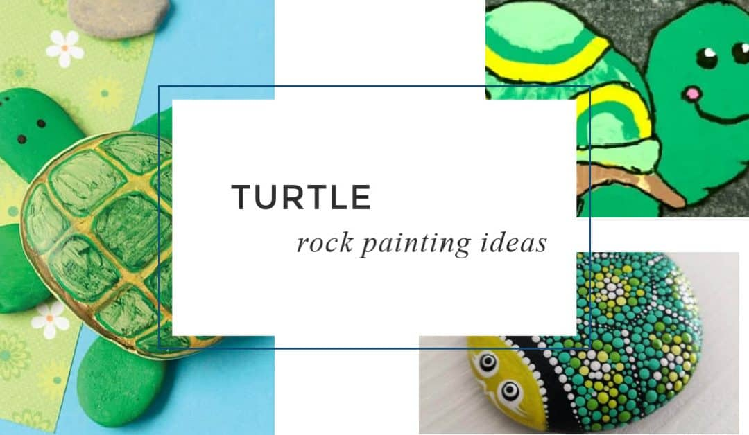 12 fun Turtle Rock Painting Ideas: Easy inspiration for beginners