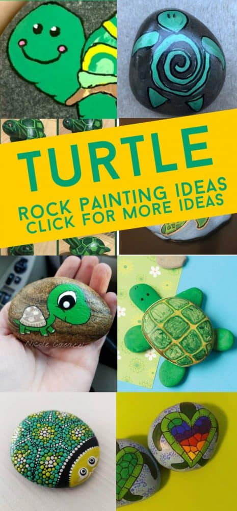 Get inspired by this collection of easy turtle rock painting ideas. Grab your paint pens or maybe some acrylic paints and paintbrushes and check out these adorable animal rocks that are perfect for beginners. #turtles #paintedrocks #rockpainting101