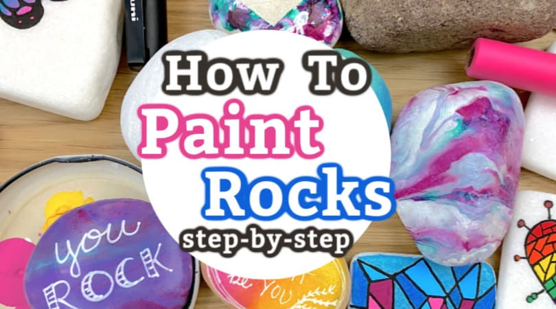 How to paint rocks: Rock painting tips and tricks for beginners