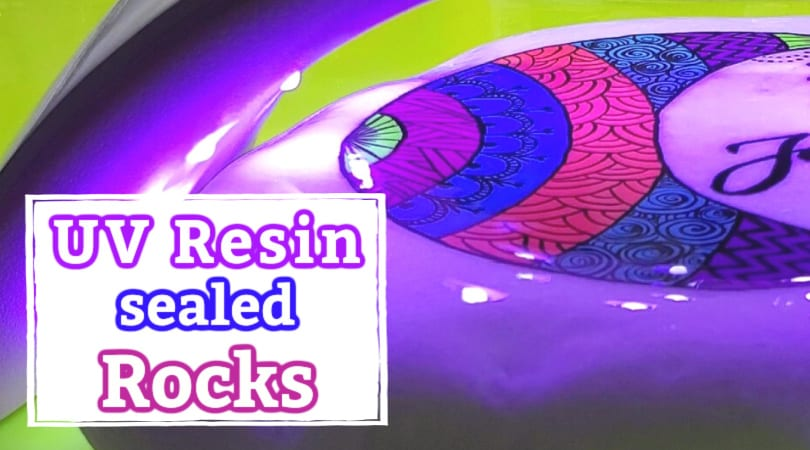 How to Seal Rocks with UV Resin: Step-by-step tutorial