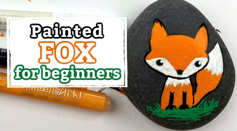 How to Paint A Fox Rock