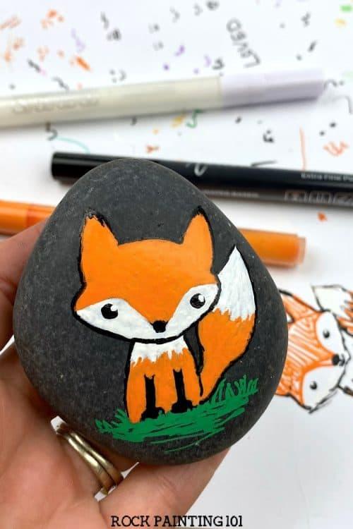 Paint pen fox tutorial